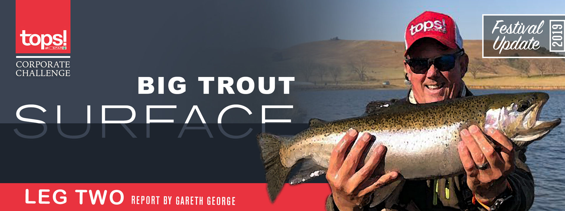 Big Trout surface – TOPS Corporate challenge leg 2