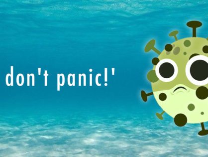 """""""...and don't panic"""""""